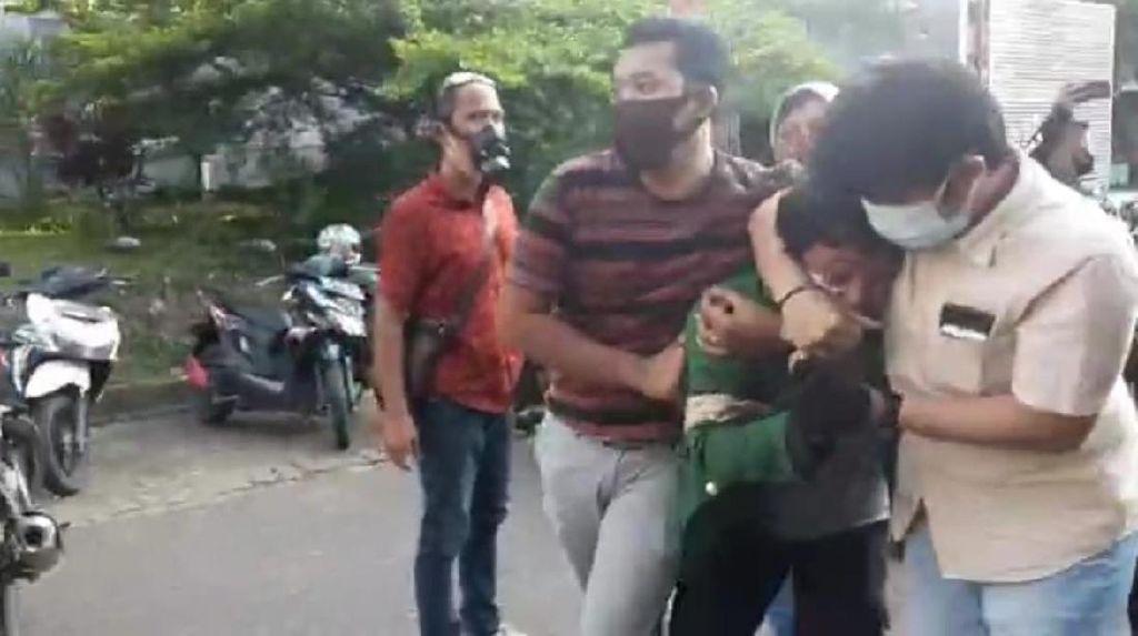 Geger Narasi Palsu Polisi vs Polisi Saat Demo di Jambi