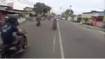 Heboh Aksi Pemotor Superman Terbang di Tangsel Diusut Polisi