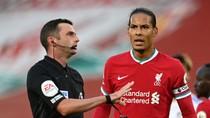 Van Dijk Dicoret dari Tim Liverpool di Liga Inggris 2020/2021