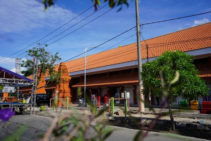 Wali Kota Mojokerto Ika Puspitasari mengecek kesiapan Pasar Benteng Pancasila (Benpas) yang akan resmi dibuka kembali pada Kamis besok.