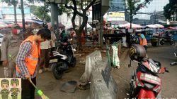 Tak Pakai Masker, 14 Warga di Pasar Kebayoran Lama Didenda Rp 700 Ribu