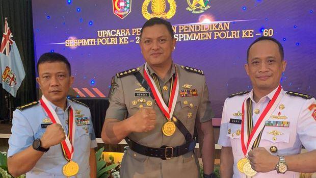 7 Perwira TNI-Polri lulusan terbaik Sespimti