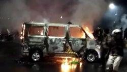 Demo Tolak Omnibus Law di Makassar Ricuh, Polisi Amankan 13 Orang