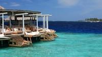 Chill Bar, Six Senses Laamu, Maldives Apa yang harus diminum:AbandonShip (tequila, mangga-ketumbar, nanas, jeruk dan tingtur air api pedas).