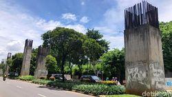 F-PKS DPRD DKI Minta Tiang Monorel Mangkrak di Jakarta Dihias