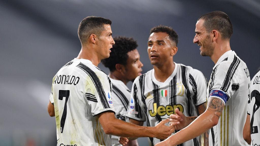 Juventus Nikmati Perayaan Rekor Cristiano Ronaldo di Tiap Laga