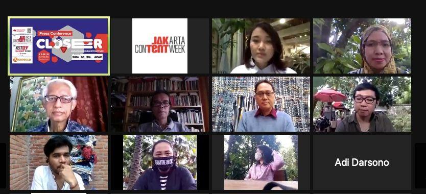 Jakarta Content Week 2020 Digelar 11-15 November 2020