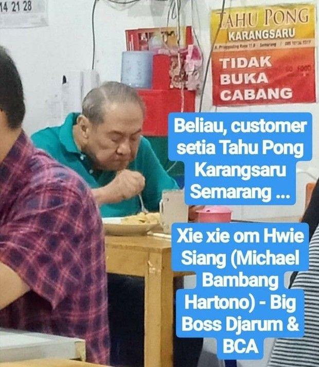 Bukan di Mall Mewah, 5 Konglomerat Ini Hobi Makan di Warung Kaki Lima