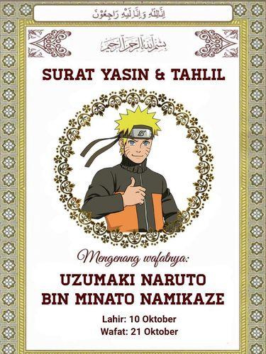 Manga Boruto: Naruto Next Generations Chapter 51, Naruto Diduga Mati