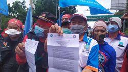 Buruh Minta Demo di Depan Istana Negara, Hendak Sampaikan Surat ke Jokowi