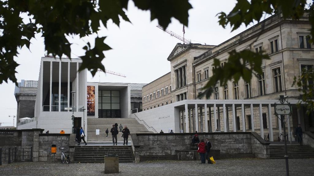 Duh! 70 Karya Seni di Museumsinsel Berlin Dirusak Secara Misterius