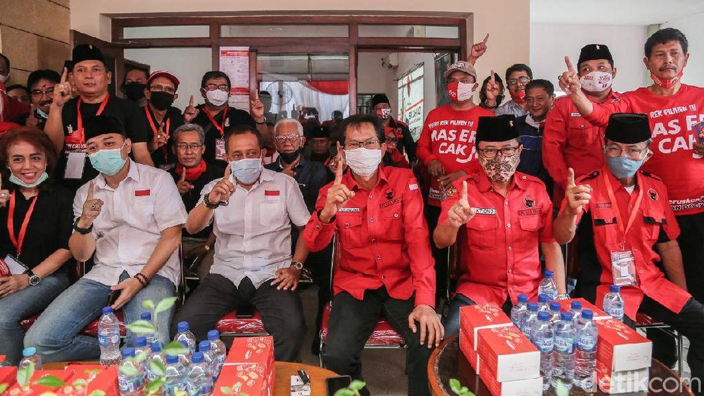 Banteng Lawas Surabaya Menyatu, PDIP: Kompak Menangkan Eri-Armuji