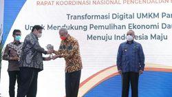 Jateng Raih Penghargaan Provinsi Terbaik Pengendali Inflasi Daerah