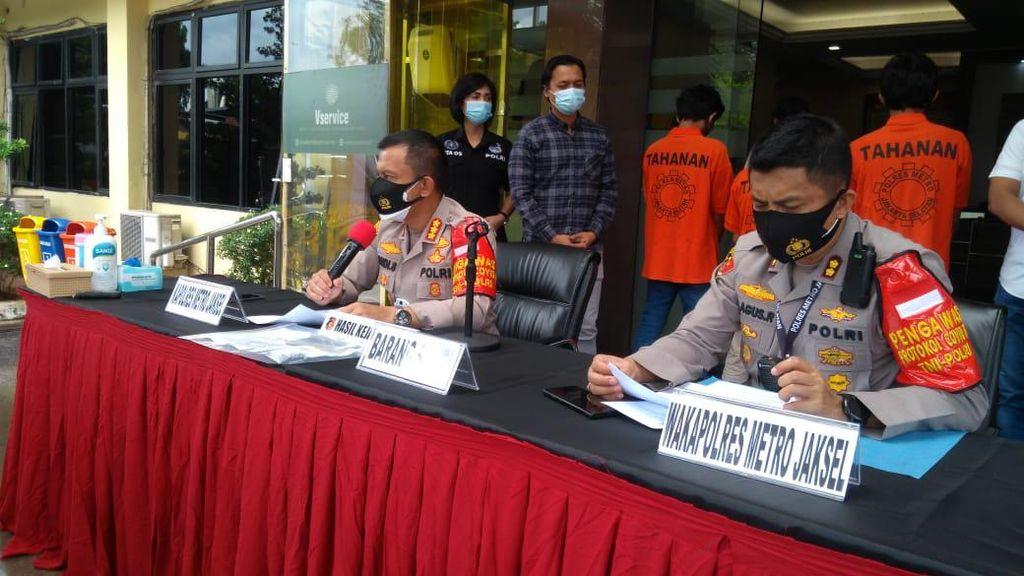3 Penjambret Viral Rampas HP Bocah Jaksel Ditangkap Berkat CCTV-Nopol Motor