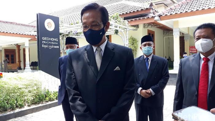 Sri Sultan Hamengku Buwono X, Kamis (22/10/2020).