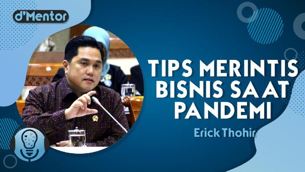 Erick Thohir Bicara Peluang Bisnis Saat Pandemi COVID-19