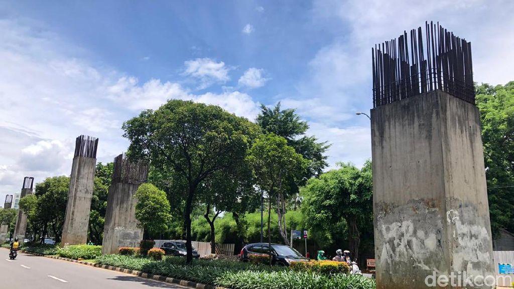 Tiang Monorel Nganggur Diminta Dicabut, Adhi Karya Tunggu Perintah