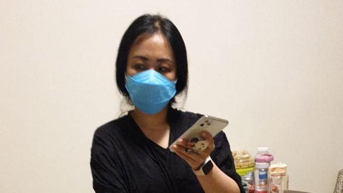 Tim Kejaksaan menangkap buron terpidana narkotika, Elissa Gunawan, di sebuah apartemen di kawasan Tebet, Jaksel (dok. Istimewa)