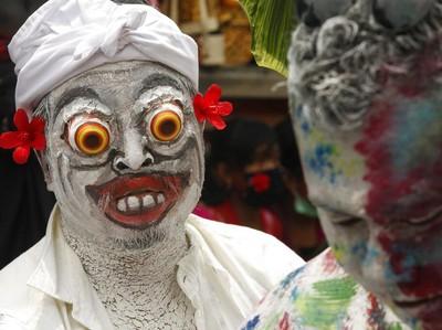 Uniknya Ritual Hindu Grebeg di Bali