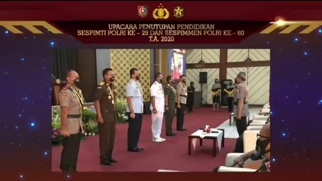 7 Perwira TNI-Polri Lulusan Terbaik Sespimti, Ada Kombes Hengki Haryadi