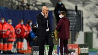 Madrid Loyo Jelang El Clasico, Zidane Jadi Susah Tidur?