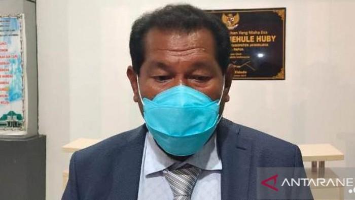 Bupati Jayawijaya Jhon Richard Banua (dok Antara)