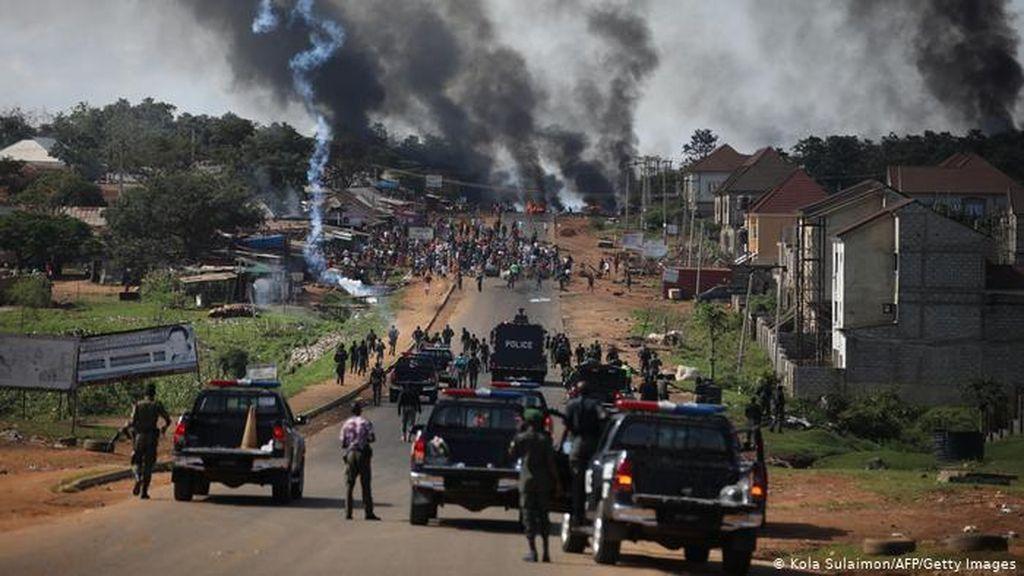 PBB Kecam Kebrutalan terhadap Pengunjuk Rasa #EndSARS di Nigeria