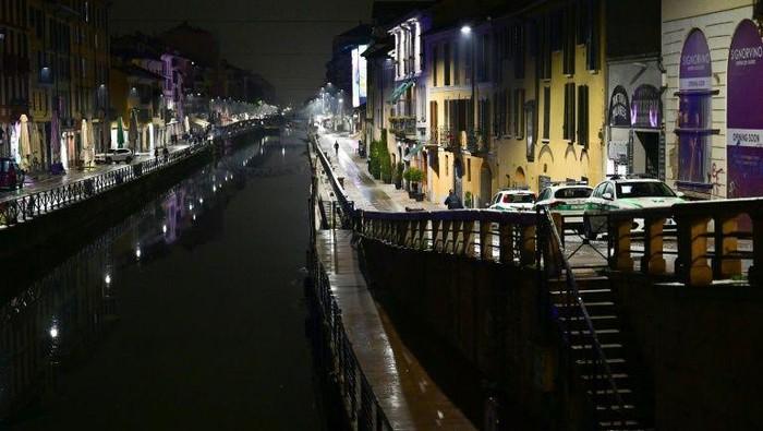 Italia memiliki sejarah panjang pemerasan oleh mafia (AFP Photo)