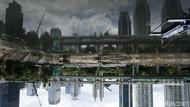 Jakarta Diselimuti Awan Mendung