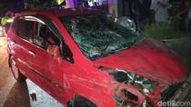 Pengemudi Mobil Jalan Zig zag di Banyuwangi Tabrak Tiga Pemotor Diduga Mabuk