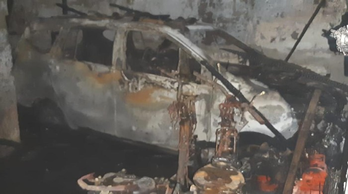 Kebakaran di Legok Tangerang juga Hanguskan Mobil Korban