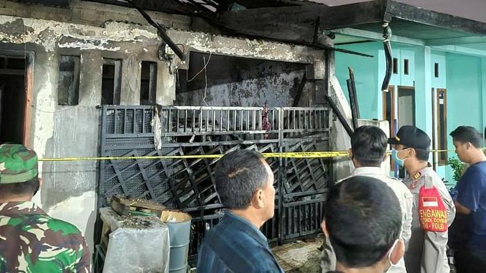 Kebakaran Tewaskan 5 Orang Sekeluarga di Legok Tangerang