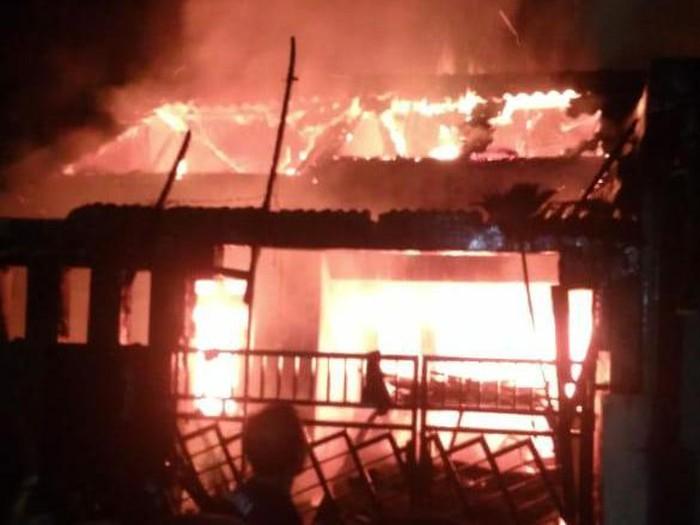 Kebakaran Tewaskan 5 Orang Sekeluarga di Tangerang