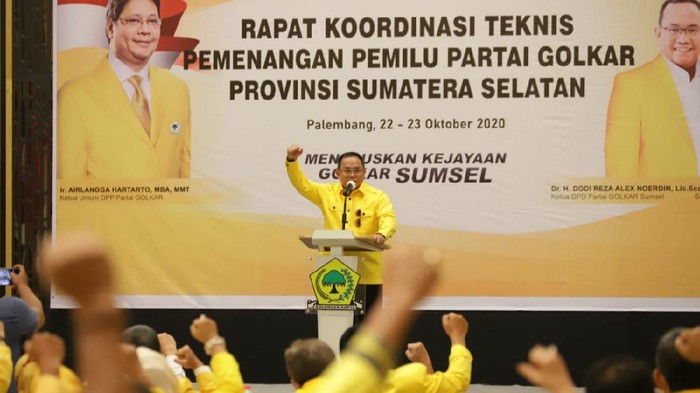 Ketua DPD Golkar Sumsel, Dodi Reza Alex (Raja-detikcom)