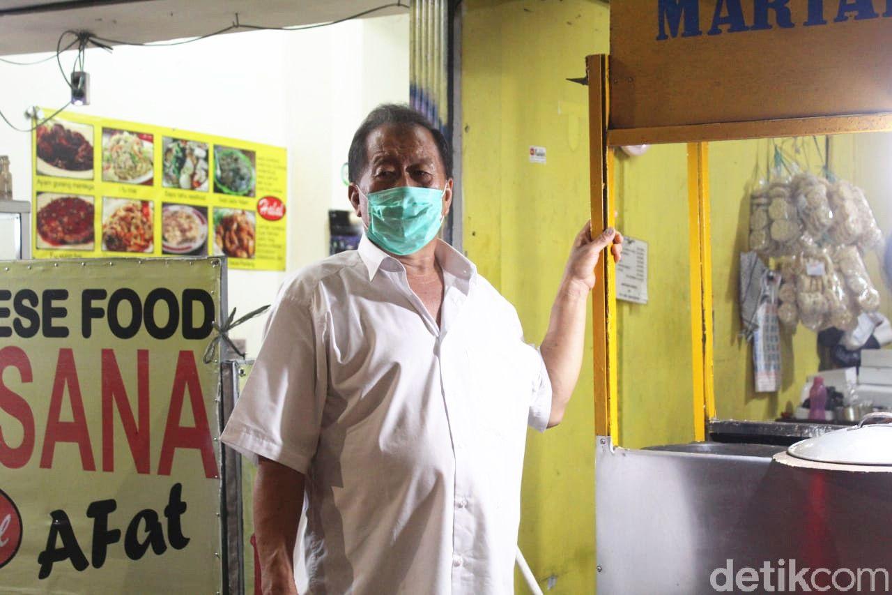 Manis Legit Martabak Bangka Afo di Bogor yang Dipanggang Pakai Arang