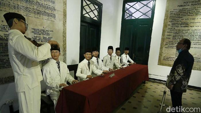 Museum Sumpah Pemuda yang berada di Jalan Kramat Raya, Jakarta Pusat, kembali dibuka. Museum ini sempat ditutup saat PSBB Ketat.