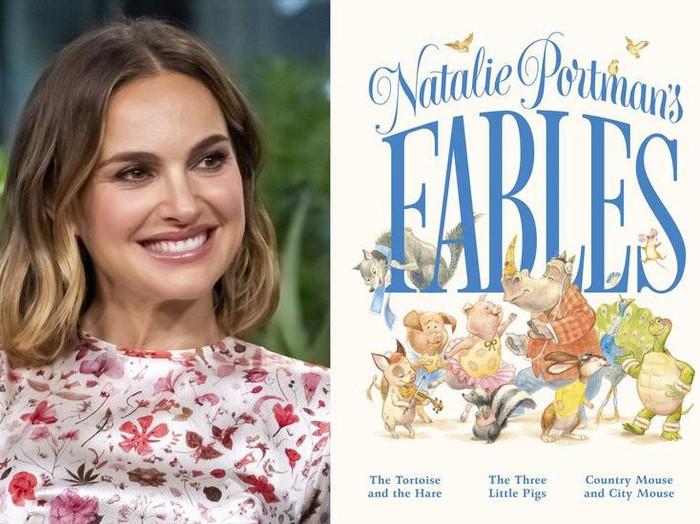 Natalie Portman Tulis Buku Dongeng Anak