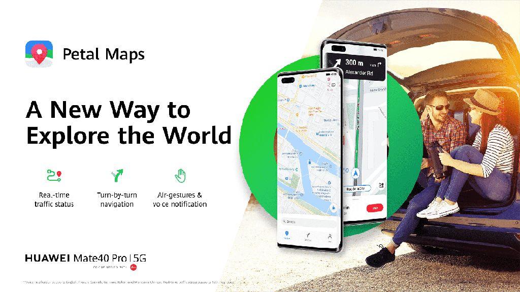 Tantang Google Maps, Huawei Rilis Petal Maps