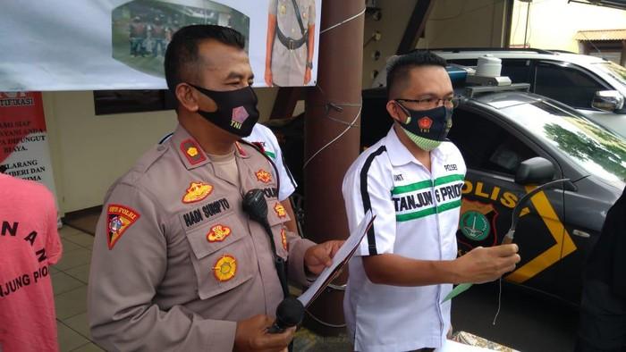 Polisi tangkap pelaku penodonga di Danau Sunter Jakut