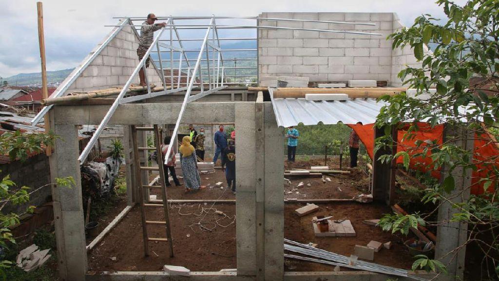 Pemprov Jateng Bangun 250 Unit Rumah Tahan Gempa Ruspin