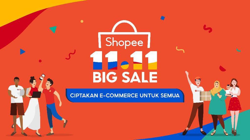 Shopee Gelar 11.11 Big Sale, Ini Daftar Promo yang Sayang Dilewatkan!