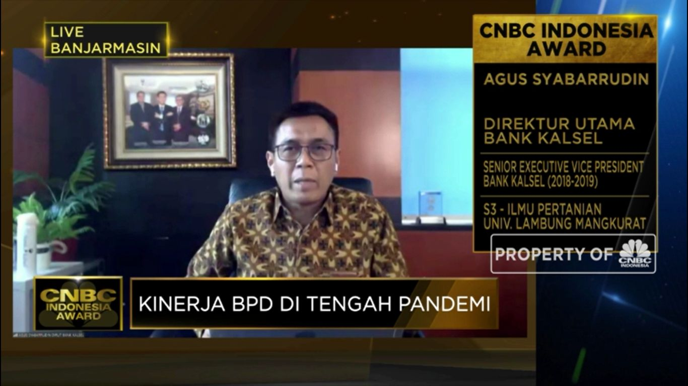 Strategi Bank Kalsel Sebagai Agen Pertumbuhan Ekonomi Daerah(CNBC Indonesia TV)