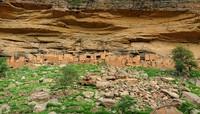 Inilah pemukiman Orang Dogon yang terbuat dari lumpur. (Getty Images/iStockphoto)