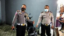 ABG Pemotor Superman Terbang di Tangsel Ditilang Polisi, Motor Disita
