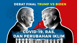 Tonton Debat Final Trump Vs Biden di detikcom!
