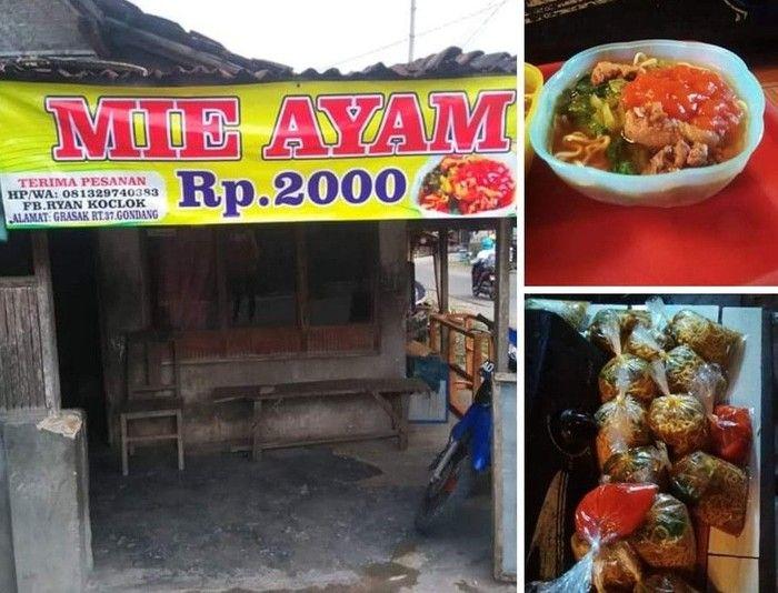 Viral! 5 Mie Ayam Murah Ini Dijual Mulai dari Rp 2 Ribu Saja