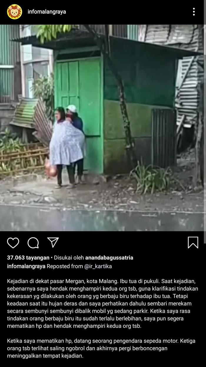 viral nenek dipukuli