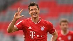 Bayern Vs Frankfurt: Lewandowski Hat-trick, Die Roten Pesta Gol 5-0