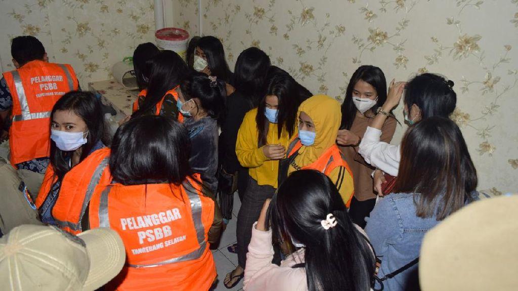 Belasan Terapis Diamankan Saat Razia Griya Pijat di Bintaro Tangsel