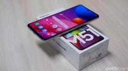 Unboxing Galaxy M51, HP Rp 5 Jutaan Bawa Baterai Jumbo